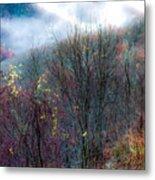 Smokey Mountain Ridge Metal Print