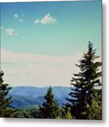 Smokey Mountains, Tn Metal Print