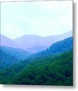 Smokies In Spring Metal Print