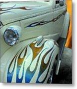 Smokin' Hot - 1938 Chevy Coupe Metal Print
