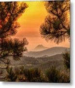 Smoky Black Hills Sunrise Metal Print