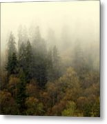 Smoky Mount Horizontal Metal Print