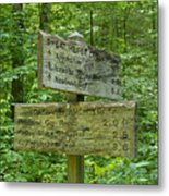Smoky Mountain Directional Metal Print