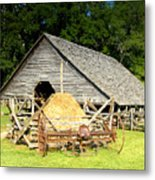 Smoky Mountain Farm Metal Print