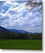 Smoky Mountain Range Metal Print