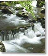 Smoky Mountain Rapids Metal Print by Andrew Soundarajan