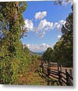 Smoky Mountain Scenery 12 Metal Print