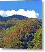 Smoky Mountain Scenery 6 Metal Print