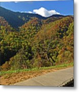 Smoky Mountain Scenery 8 Metal Print