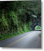 Smoky Mountain Tunnel Metal Print