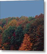 Smoky Mountains In Autumn Metal Print
