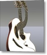 Smooth Guitar Metal Print