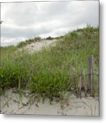 Smugglers Beach Dune South Yarmouth Cape Cod Massachusetts Metal Print by Michelle Wiarda