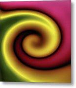 Snail Metal Print