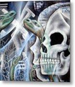 Snake Creation Metal Print