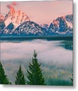 Snake River Overlook - Grand Teton National Park Metal Print