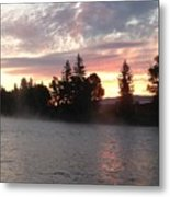 Snake River Sunrise Metal Print