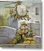 Sniper Military Tribute Metal Print
