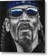 Snoop Metal Print