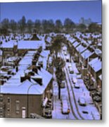Snow 2 Metal Print by Terry Walters