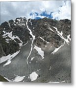 Snow And Rock Metal Print