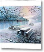 Snow Blanket Metal Print