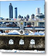 Snow Day In The A Metal Print