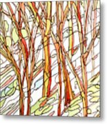 Snow Forest #1 Metal Print