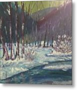 Snow Forest Metal Print