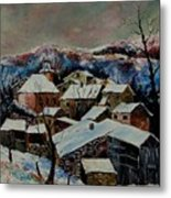 Snow In Laforet 78 Metal Print