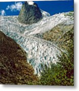 Snow Patch Spire Metal Print