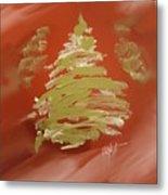 Snow Pines Metal Print