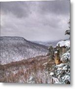 Snow Remoteness Metal Print