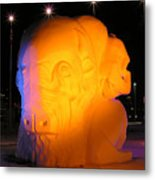 Snow Sculpture Metal Print by Richard Mitchell