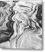Snow Shapes Viii Metal Print