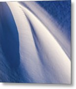 Snow Shapes Xix Metal Print