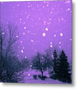 Snow Song Metal Print