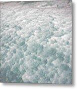 Snow Waves Metal Print