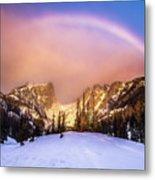 Snowbow Metal Print
