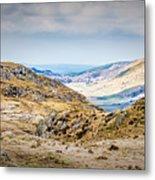 Snowdonia Landscape Metal Print