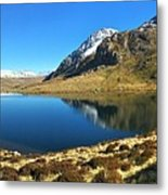 Snowdonia Panorama Metal Print