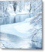 Snowfall On Gauley Metal Print