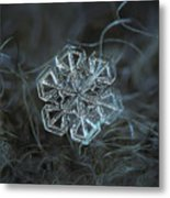 Snowflake Photo - Alcor Metal Print by Alexey Kljatov
