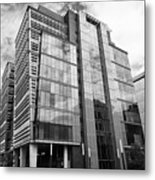 snowhill office development in new financial area of Birmingham UK Metal Print