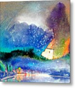 Snowing All Over Spain Metal Print