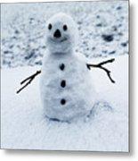 Snowman 1 Metal Print