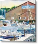 Snug Harbor II Metal Print