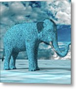 So Blue Without You Metal Print