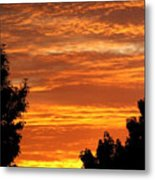 So Cal Sunset Metal Print