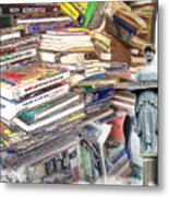 So Many Books To Read Metal Print
